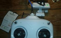DJI Phantom 2 Vision Plus 5.8GHZ Transmitter w/Wifi Extender and Stage 1 Antennaes
