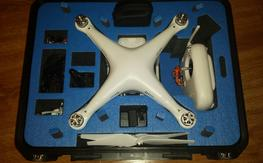 DJI Phantom 2 Vision/Zen Muse 3D With GoPro3/Fat Shark and Ground Station