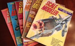 First 4 years of Scale Modeler Magazines