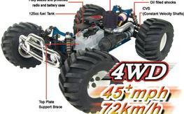 CEN Racing Magnum NX 3.0 4x4 Nitro Truggy