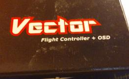 Vector flight control and osd