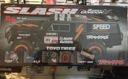 1/10 Slash 2WD RTR w/2.4GHZ Robby Gordon Dakar