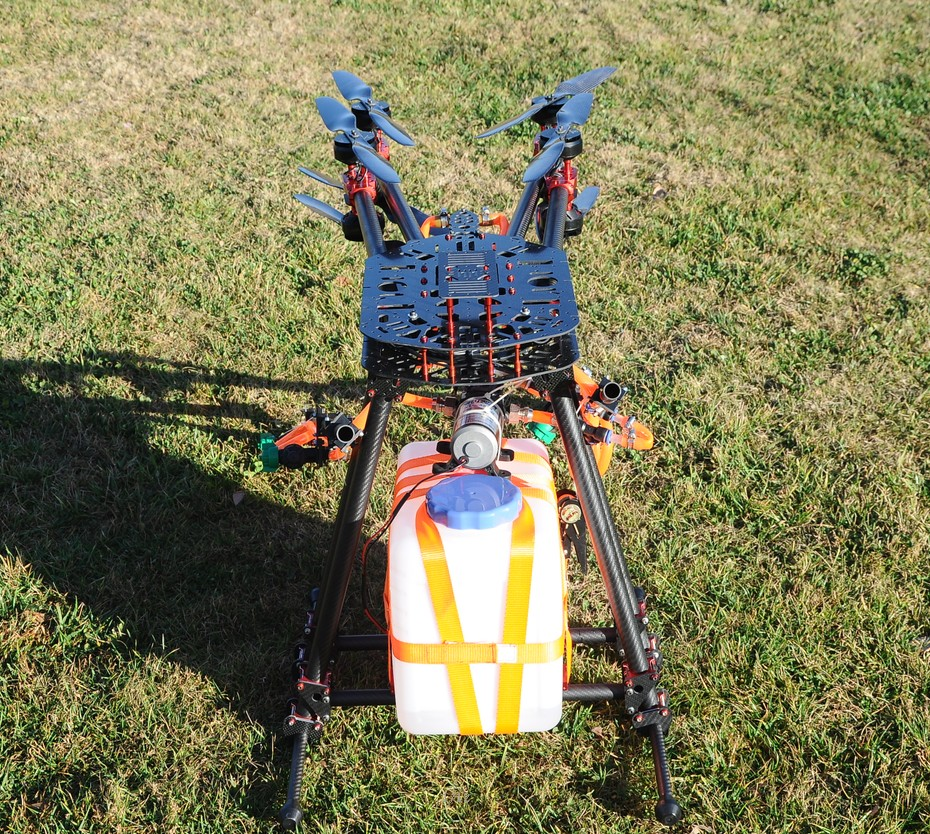 Heavy Octocopter For Plant Protection HeliFreak