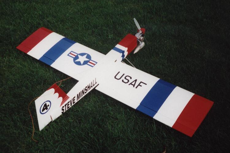Thunder Biard 4, my second flying wing own design, many years ago