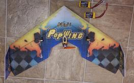 mini pop wing pnp with 2 new batteries