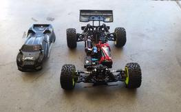 Losi 8e 2.0 RTR highly modded