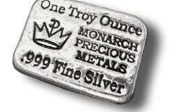 1 ounce Monarch silver bar