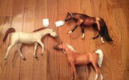 3 Breyer Horses