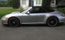 2011 Porsche 911 GTS cabriolet