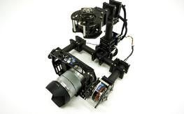 3 AXIS GIMBAL FOR NEX5N (Professional Quality WITH Alexmos Board included!)
