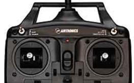 Airtronics SD-5G 2.4G 5-Ch Computer Radio w/Receiver FHSS-1 Full Range