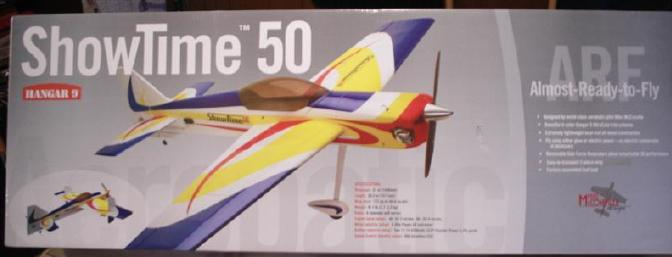 Excellent picture of the ShowTime 50 on the box