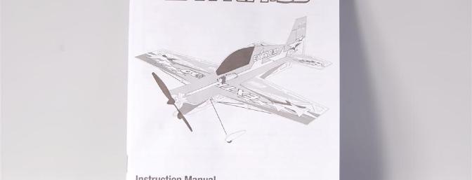 The E-flite UMX Extra 300 3D BNF manual.