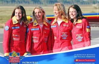 First ever all women's aerobatic team