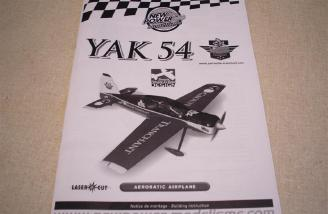The NPM Yak-54 manual.