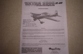 The comprehensive and well laid out Extra 330S manual