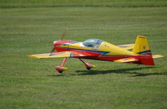 My 27% Extra 330S on the takeoff roll