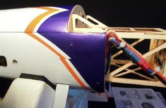 Note the pre-tapped cowl ring holes on the side of the fuselage.