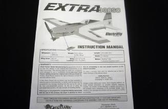 Electrifly� Extra 330 SC ARF manual.
