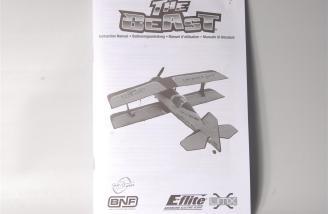 The E-flite UMX Beast manual.