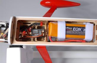 FlightPower EONX battery packs in place.