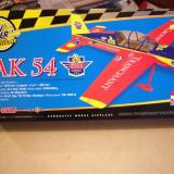 A fantastic looking picture of the finished New Power Yak-54 is found on every box.