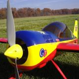 The NPM Yak-54 up close and personal.