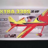 A great looking shot of the finished Extra 330s adorns the cover of every box.