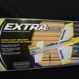 Great box top picture of the Electrifly� Extra 330 SC ARF.