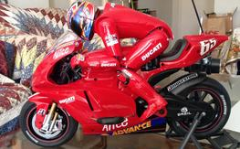 Ducati rc motorcycle 1:5 ready to run! Nikko rc superbike ducati