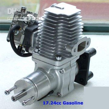 SV 17CC Gas Engine with Walbro carb.  Ideal for smaller planes so you start using gas instead of theat expensive glow fuel.