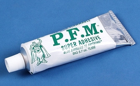 This 2 oz tube of glue will exceed you expectations for anything a modeler can think to use it for.