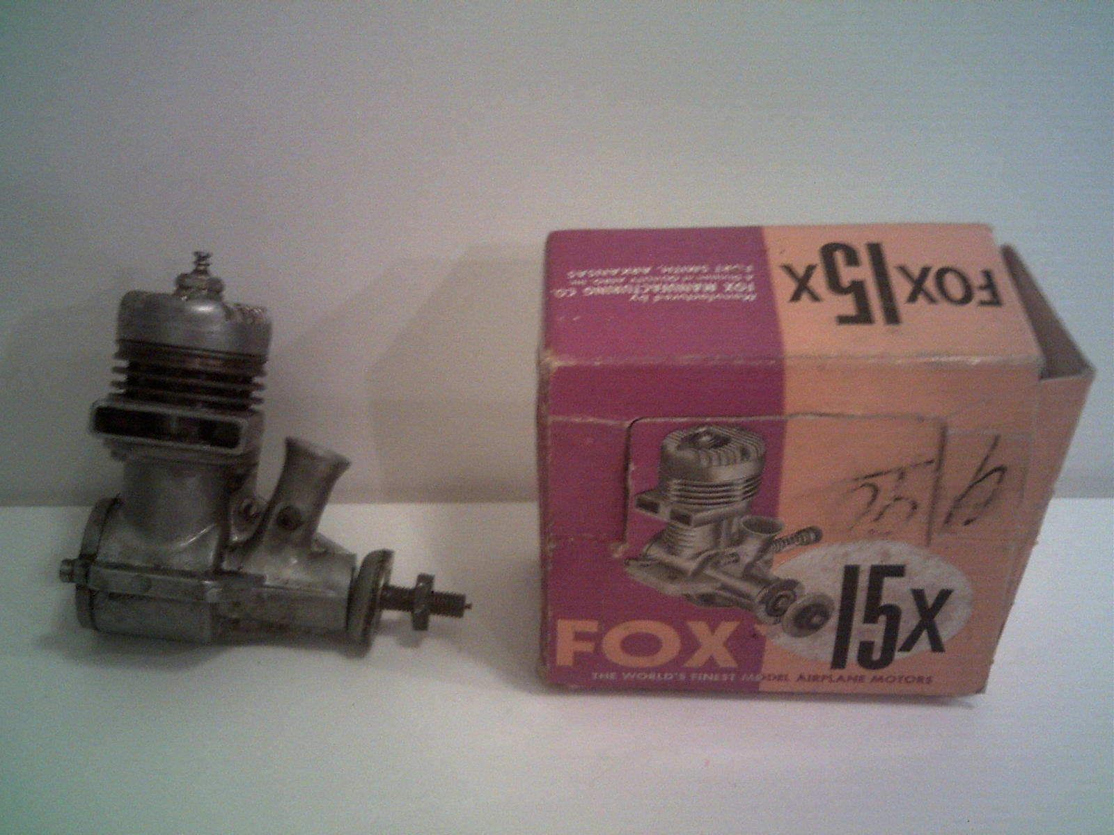 FOX 15 NIB with New needle Valve included.