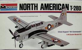 NIB Monogram T-28D  grey 1/48-plastic Model
