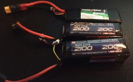 letting these go CHEAP! 3x lipo, 2100mah venom and 2200 powerwing, both 3s--11.1v