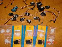 Name: Esky servos 2 hs55s and several generic servos.jpg