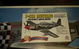 Top Flite P-51 D with P-51B conversion kit