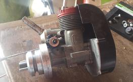 hb 61 nitro motor for heli . made in Germany