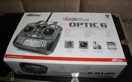 HiTec Optic 6 with 2 Optima 7 receivers.  NIB, $125