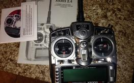 JRX9303 2.4 Transmitter with R921 receiver