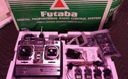 Futaba FP-T6NLK CONQUEST fm 6-channel radio system