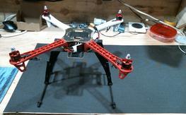 DJI Flamewheel 450 frame, motors, landing gear
