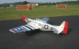 "H9 P-51 Mustang (65.5"" WS, Retracts, Sound System), Local Pickup Only- St. Louis, Mo."