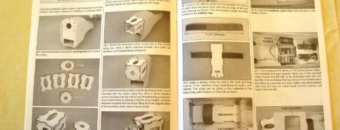 The very complete Instruction Manual includes clear step by step photos and captions.