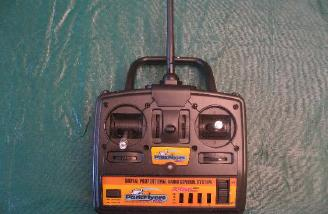 This no frills but adequate transmitter is included in the Ready to Fly version of the Yak.