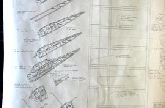 Isometric drawings show how the fuselage goes together.