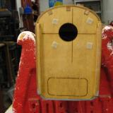 The firewall is fuel proofed with epoxy (as though we e-folks need that!). Blind nuts are pre-installed.