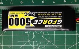 Gforce 3S 5000mah 25C