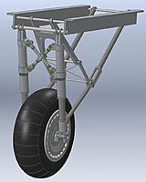 Name: He-111 6th Scale Landing Gear 20130128.jpg