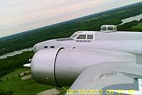 Name: B-17 in flight over  River Oaks.jpg